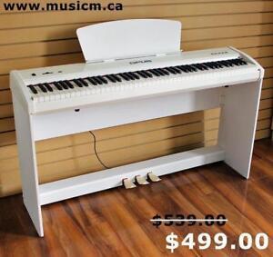 Digital Piano Keyboard 88 Weighted Keys Brand New With Warranty www.musicm.ca