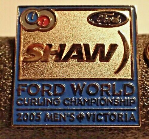 Curling Pin - For World Curling Championship 2005 Men