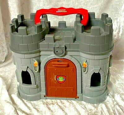 Play N Go Castle Little People Fisher Price 2009 R6934 Ages 2-5 Years