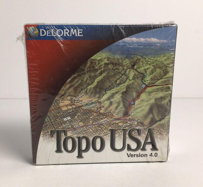 DeLorme Topo USA Version 4.0 SEALED
