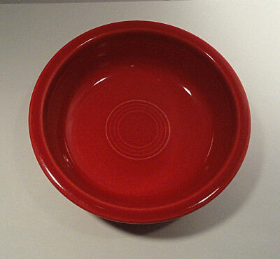 Fiesta Homer Laughlin Red Cereal Bowl