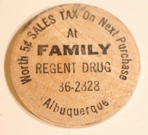 Vintage Albuquerque New Mexico Wooden Nickel