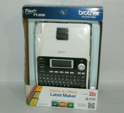 Brother P-touch Pt-2030 Thermal Label Maker Printer New