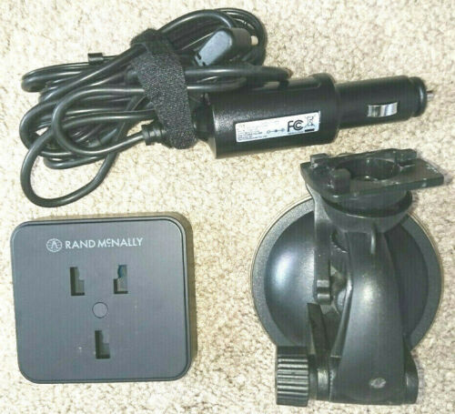 OEM ACCESSORIES FOR RAND MCNALLY TND-740 GPS ACTIVE CRADLE SUCTION MOUNT CHARGER