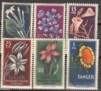 Spain Tanger Tangier Huerfanos De Telégrafos Hevia 73/78 Set. Flores -  - ebay.es