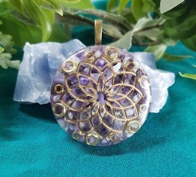 Ultimate Spirit Connection Orgone Pendant: Contact Source; Meditation