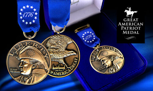 Great American Patriot Medal for Trump MAGA Supporters