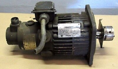 Yaskawa Electric Ughmed-06aa2xx Ser.a 0.63.0kw 1000rpm 133v Hicup Motor