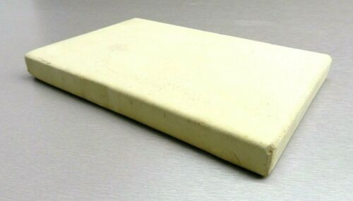 """Ceramic Board Soldering Melting Plate Jewelry Bench Heat Tile 8""""x10""""x1"""" Thick"""