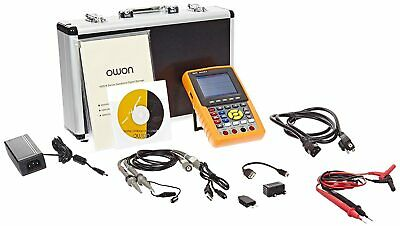 New Owon Hds3102m-n Handheld Digital Storage Oscilloscope 100mhz 1gss