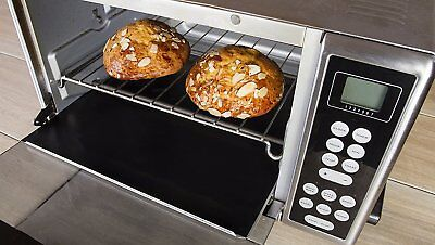 Nonstick Toaster Oven Liner - Heavy Duty Teflon Reusable BPA