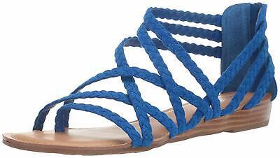 Carlos by Carlos Santana Womens Amara 2 Split Toe Casual, Corfu Blue, Size 9.0 s