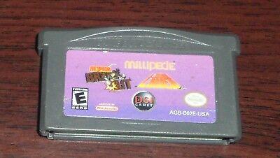 Nintendo GBA. DSI Games. Super Breakout Millipede Lunar Lander. AGB-B62E-USA