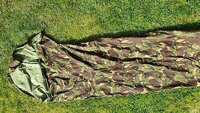 Genuine British Army Gore-Tex Bivi / Bivvy Bag DPM Camo Bushcraft Camping Cadet