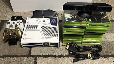 Xbox 360 Star Wars Connect Limited Edition 320GB - 28 Games Plus More **MINT**