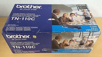 New Genuine Brother Hl4040cn Hl-4070 Dcp-9045 Mfc 9440 Cyan Toner Tn-110c