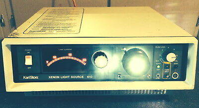Storz Model 610 Endoscopy Xenon Light Source 300 Watt