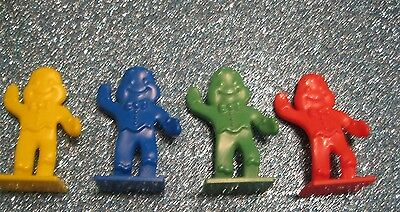 CANDY LAND GAME REPLACEMENT GINGER BREAD MEN MOVERS PIECES FAVORS CRAFTS LOT  - Candy Craft Game