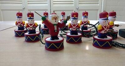 Santa's Snowman Band Christmas Musical Display Animated -VTG-Plays 25 Melodies