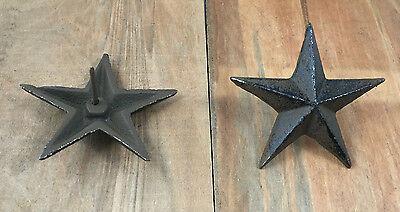 Cast Iron Nail Star Craft Texas Western Decor (Cast Iron Nail Star)