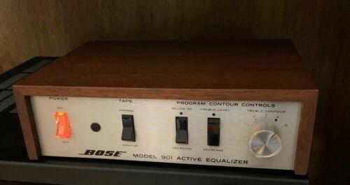 Bose 901 Series I ok for II Active Equalizer Original Cleaned Works Great OEM