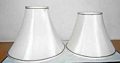 LAMPS PAIR OF MOTHER DAUGHTER SET SPECIALTY SHADES FOR LAMPS w/ SOCKET HEIGHTS