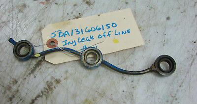 Sba131606150 Ford 1210 Injector Leak Off Line