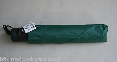 Regenschirm Taschenschirm 100cm Schutzhülle Grün Gruen NEU Schirm Tasche Regen