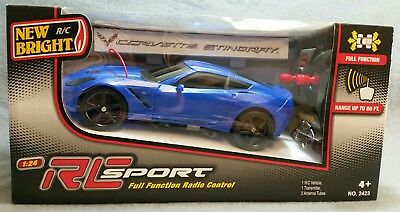 NEW!!!  New Bright RC Sport 1:24 scale R/C Car Different Colors for sale  Edgewood