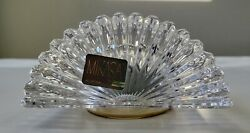 Mikasa ~Sutton Place~ Austrian Crystal Quartz Desk Mantle Clock Made in Germany