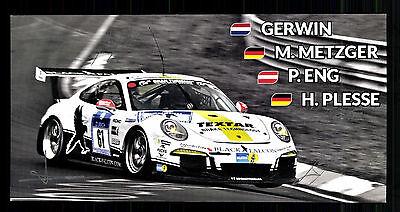 Gerwin Metzger Eng und Plesse Original Signiert Motorsport + G 15211