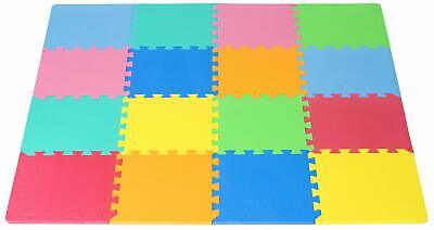 Kids Foam Puzzle Floor Play Mat And With Solid Colors Tiles For Kids Play NEW Foam Flooring Kids
