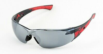 Radians Obliterator Silver Mirror Blackred Safety Glasses Sunglasses Z87