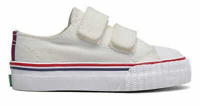 PF Flyers Infant Center Lo 2V Shoes White Size