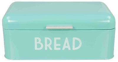 Home Basics Metal Bread Box with Lid