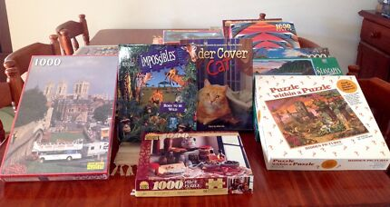 Jigsaw Puzzles Assorted from $3