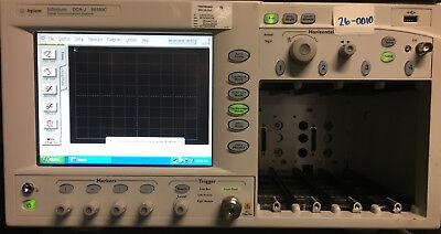 Agilent 86100c Infiniium Dca Oscilloscope Mainframe W 092701