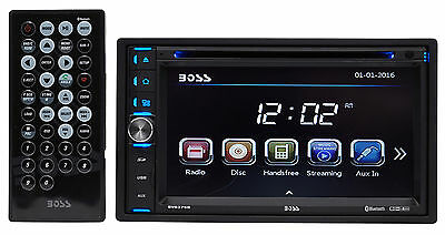 "Boss Audio BV9376B 6.5"" In-Dash Double-Din Car DVD/CD Receiver w/Bluetooth/MP3"