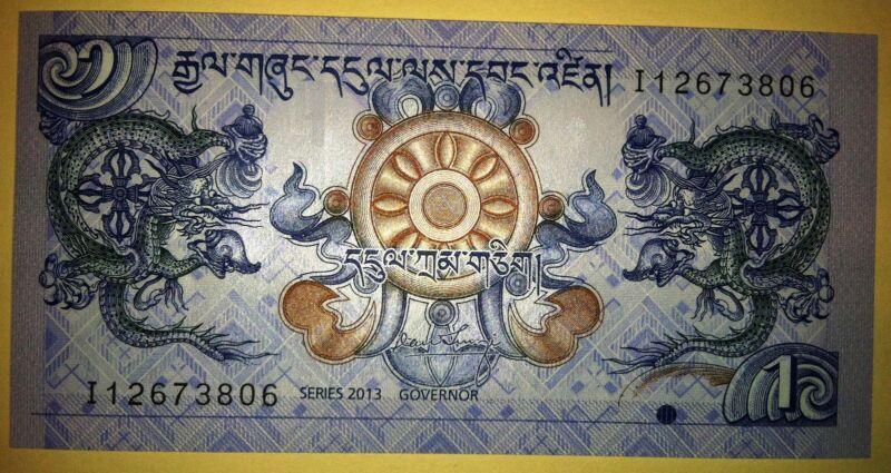1 Ngultrum Bhutan - 2013 Uncirculated
