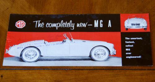 MGA US leaflet Prospekt, 1955