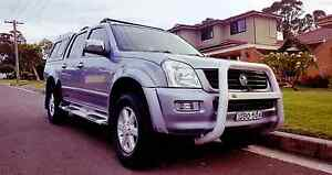 Holden Rodeo 4WD, CANOPY, LOW KMS, CHEAP BUY, REGO, SPORTS PACK Bondi Beach Eastern Suburbs Preview