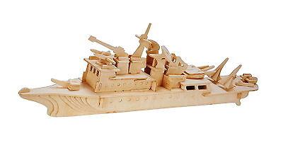 Holz Schiff Kreuzer Holzbausatz 3D Puzzle Holzpuzzle Modellbau Holzmodellbau NEU