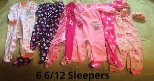 Baby Girl 6-12M Clothes Lot