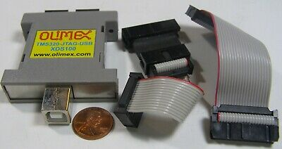 Olimex Tms320-jtag-usb Xds100  Usb Not Included