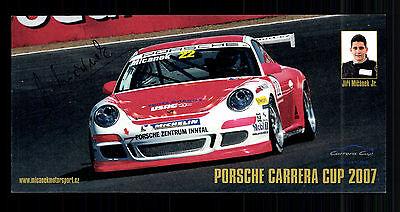 Jiri Micanek Autogrammkarte Original Signiert Motorsport + G 15144