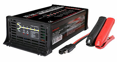 15 Amp 12V 7 STAGE Battery SMART CHARGER for VMAX Solar Series AGM SLR60-SLR155