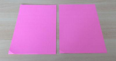 Weihnachten / Basteln ~ Bastelpapier DIN A4: 11x Pinkfarbenes Papier..