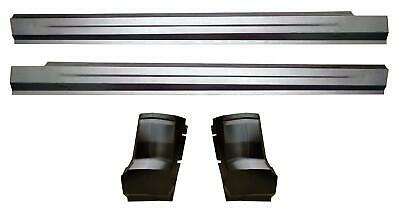 Slip-on Rocker Panel & Cab Corner Kit for 09-18 Dodge Ram Pickup truck Quad Cab