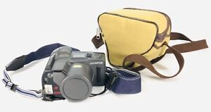 Vintage Olympus camera infinity Super zoom 300 and case 35mm SLR