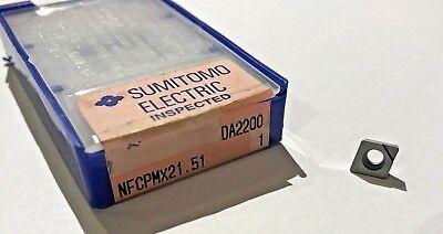 Sumitomo Diamond Tipped Turning Insert - Nfcpmx21.51 Da2200 1 - Qty. 1 - New